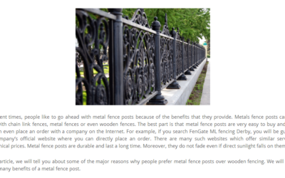 FENCING FORT COLLINS PROPERTIES FOR ADDITIONAL VALUE AND PROTECTION