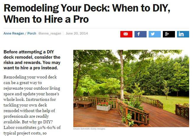 THREE WAYS A GREELEY DECK BUILDER CAN MAKE A DIFFERENCE IN YOUR DECK