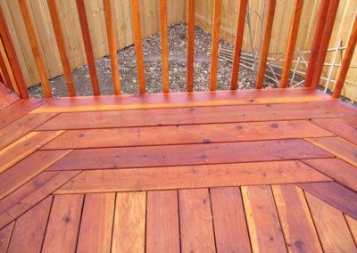 multi-color deck materials